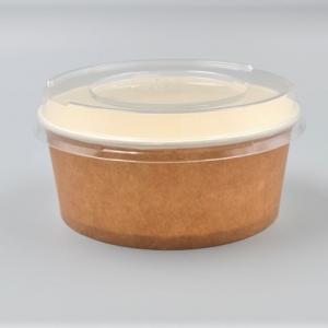 Popierines rudos salotines, su dangteliu, 750 ml